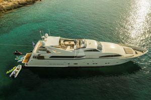 CHAMPAGNE SEAS - Ferretti 112 - 5 Cabins - Athens - Mykonos - Corfu - Santorini