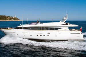 TALILA - Mondomarine 29m - 4 Cabins - Monaco - Cannes - St Tropez - Antibes