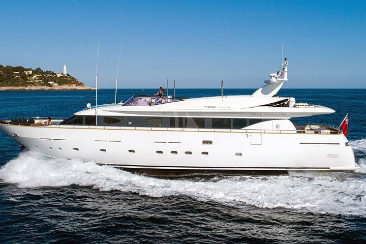 Charter Yacht TALILA - Mondomarine 29m - 4 Cabins - Monaco - Cannes - St Tropez - Antibes