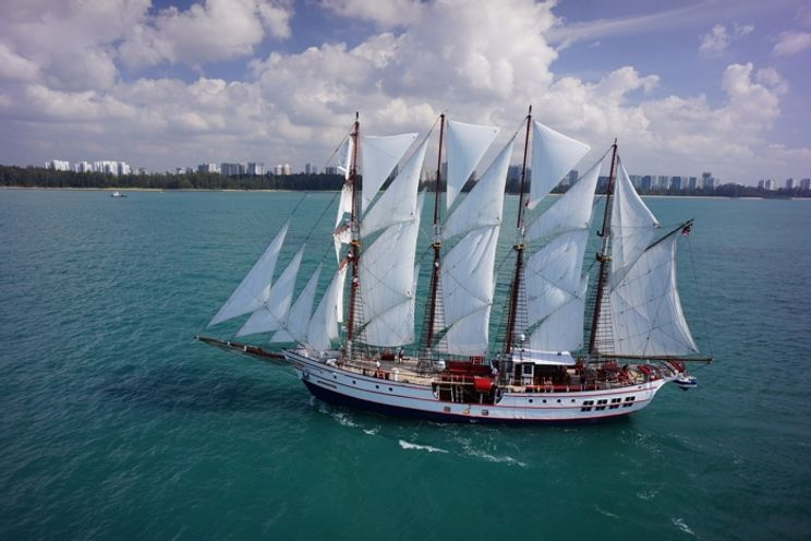 Charter Yacht Classic Sailing Yacht - Guest Capacity 149 - Singapore