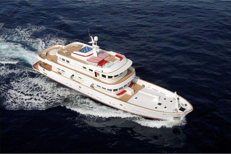 Charter Yacht TANANAI - Terranova 115 - 6 Staterooms - Italy - Olbia - Sardinia - Corsica