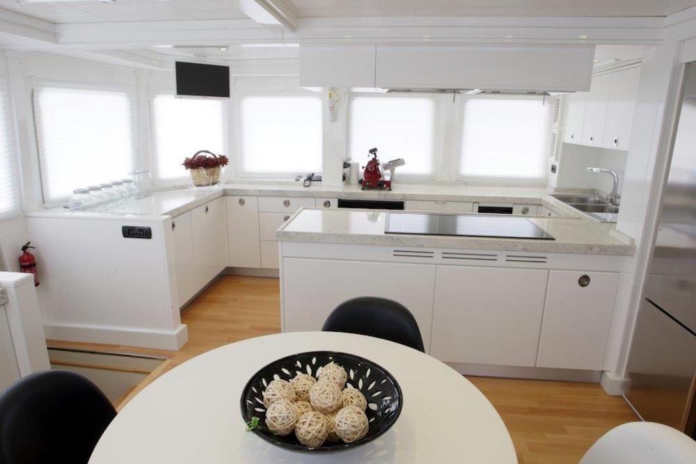 TANANAI Yacht Galley