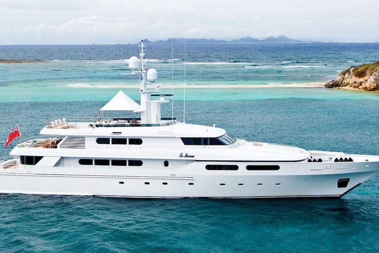 Charter Yacht TE MANU - Codecasa 49 - 6 Cabins - St Thomas - St Martin - St Barths - Nice - Cannes - Monaco