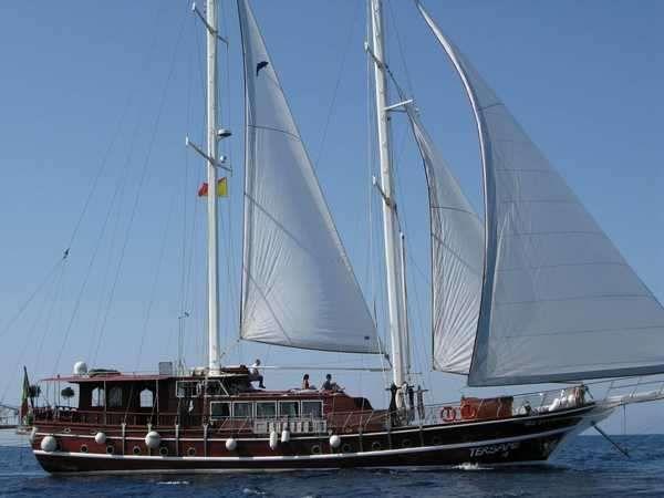 TERSANE IV - 24m Gulet - 6 Cabins - Milazzo - Palermo - Naples - Sicily
