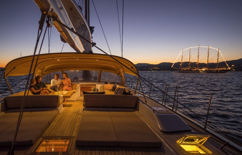 Boatbookings THALIMA Sailing Yacht Night