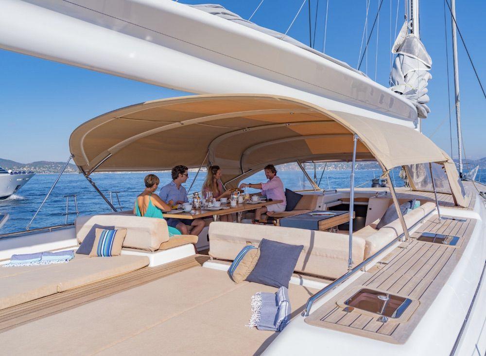 Boatbookings THALIMA Sailing Yacht Aft Deck Large