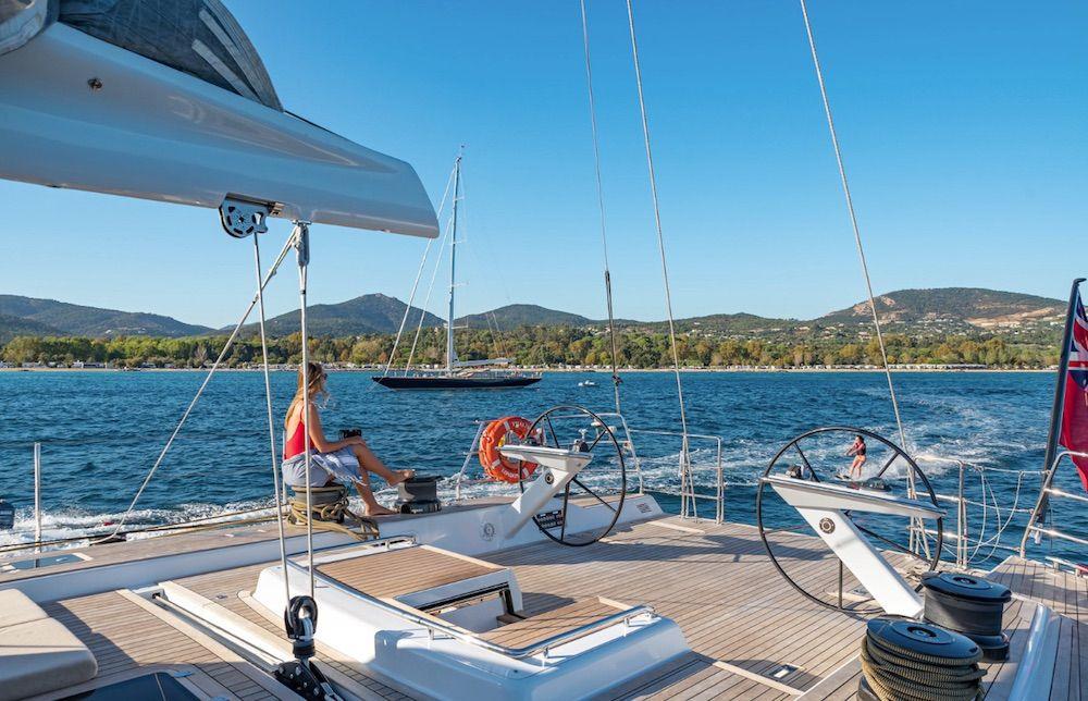 Boatbookings THALIMA Sailing Yacht Helm