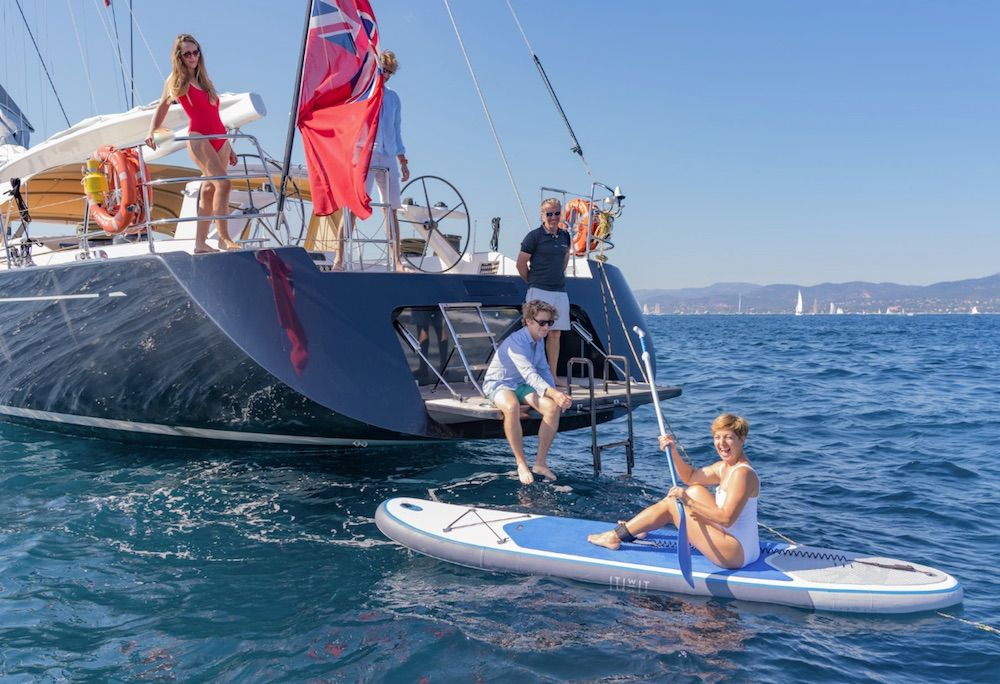 Boatbookings THALIMA Sailing Yacht SUP