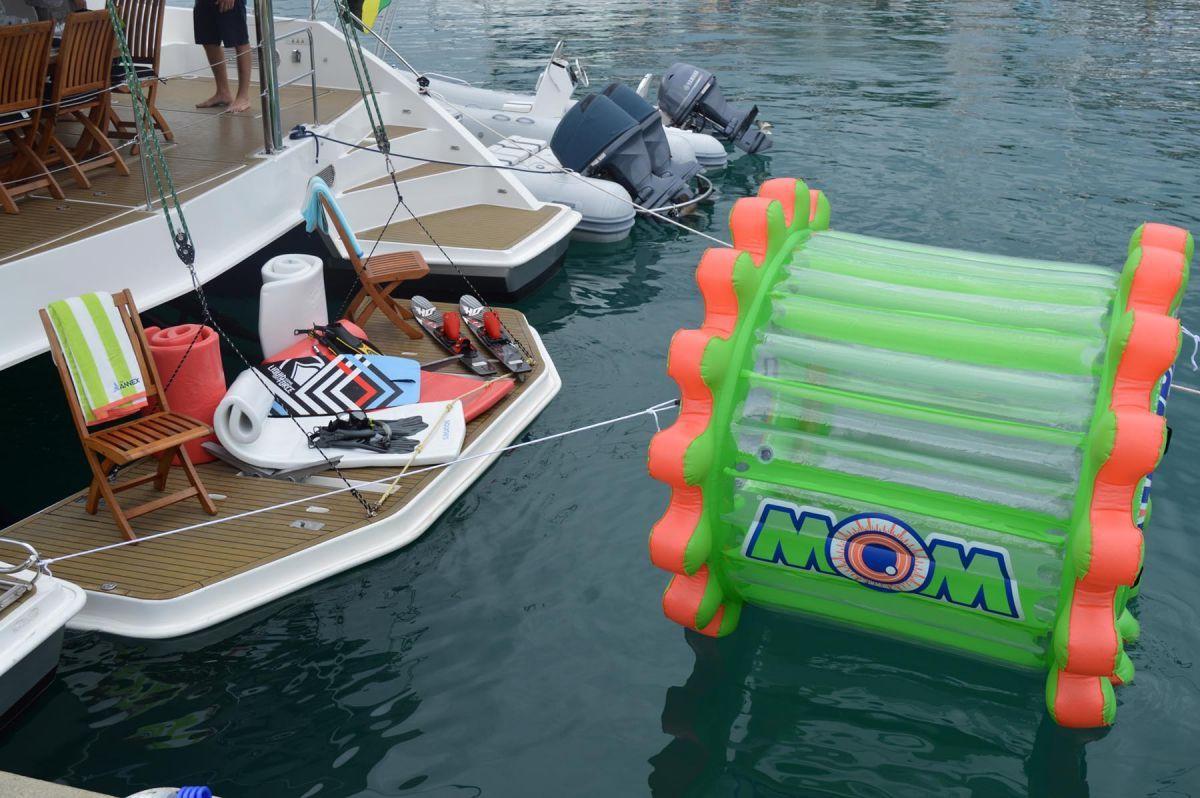 THE ANNEX Leopard 58 Crewed Catamaran Water Toys