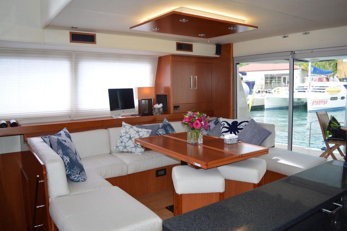THE ANNEX Leopard 58 Crewed Catamaran Interior