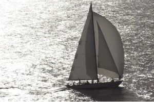 THE BLUE PETER -  Classic Yacht - 4 Cabins - English Harbour - St Barths - St Martin