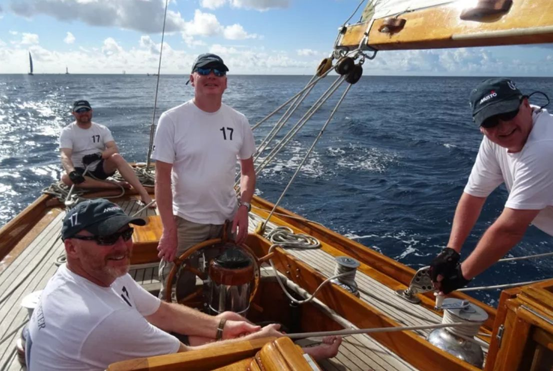 THE BLUE PETER Classic Yacht Crew