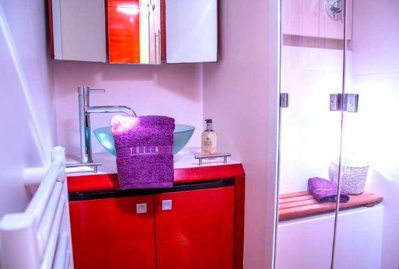 THEIA OF LONDON - Master cabin bathroom