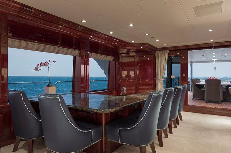 THREE FORKS Christensen 49m Skylounge Dining