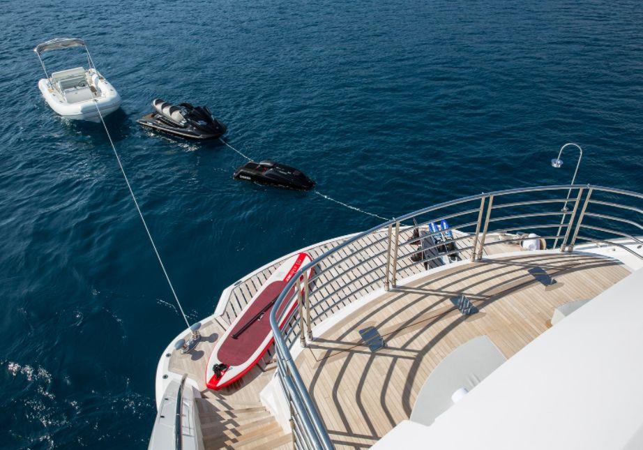 THUMPER - Sunseeker 40m - Swim Platform