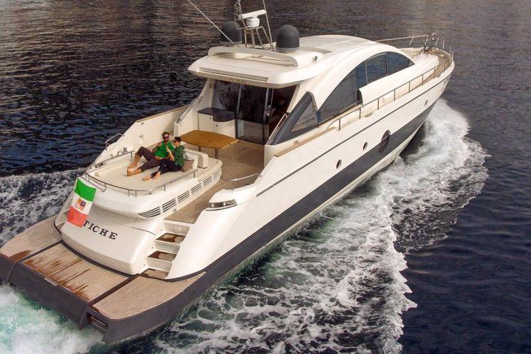 Charter Yacht TICHE - Aicon 72 SL - 3 Cabins - Positano - Capri - Amalfi - Naples