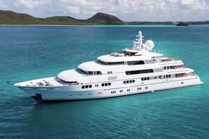 TITANIA - Lurssen 73m - 7 Cabins - St Barths - Virgin Islands - Bahamas - Monaco - Amalfi Coast
