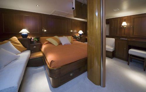TIZIANA Abeking & Rasmussen 116 Luxury Sailing Yacht Master Cabin