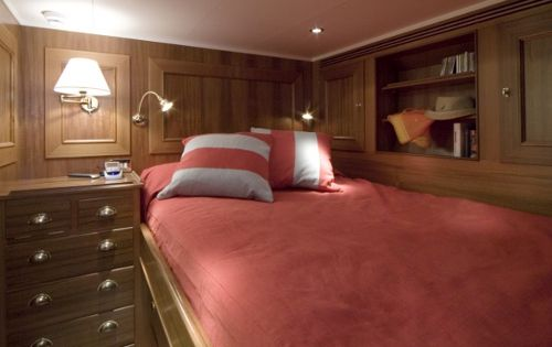 TIZIANA Abeking & Rasmussen 116 Luxury Sailing Yacht Double Cabin