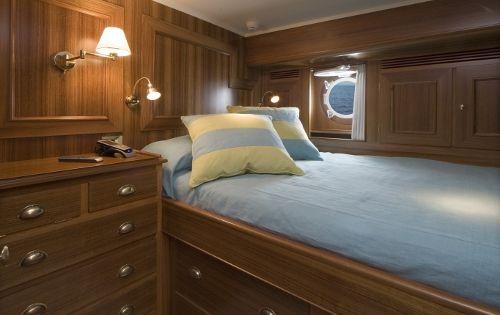 TIZIANA Abeking & Rasmussen 116 Luxury Sailing Yacht Twin Cabin