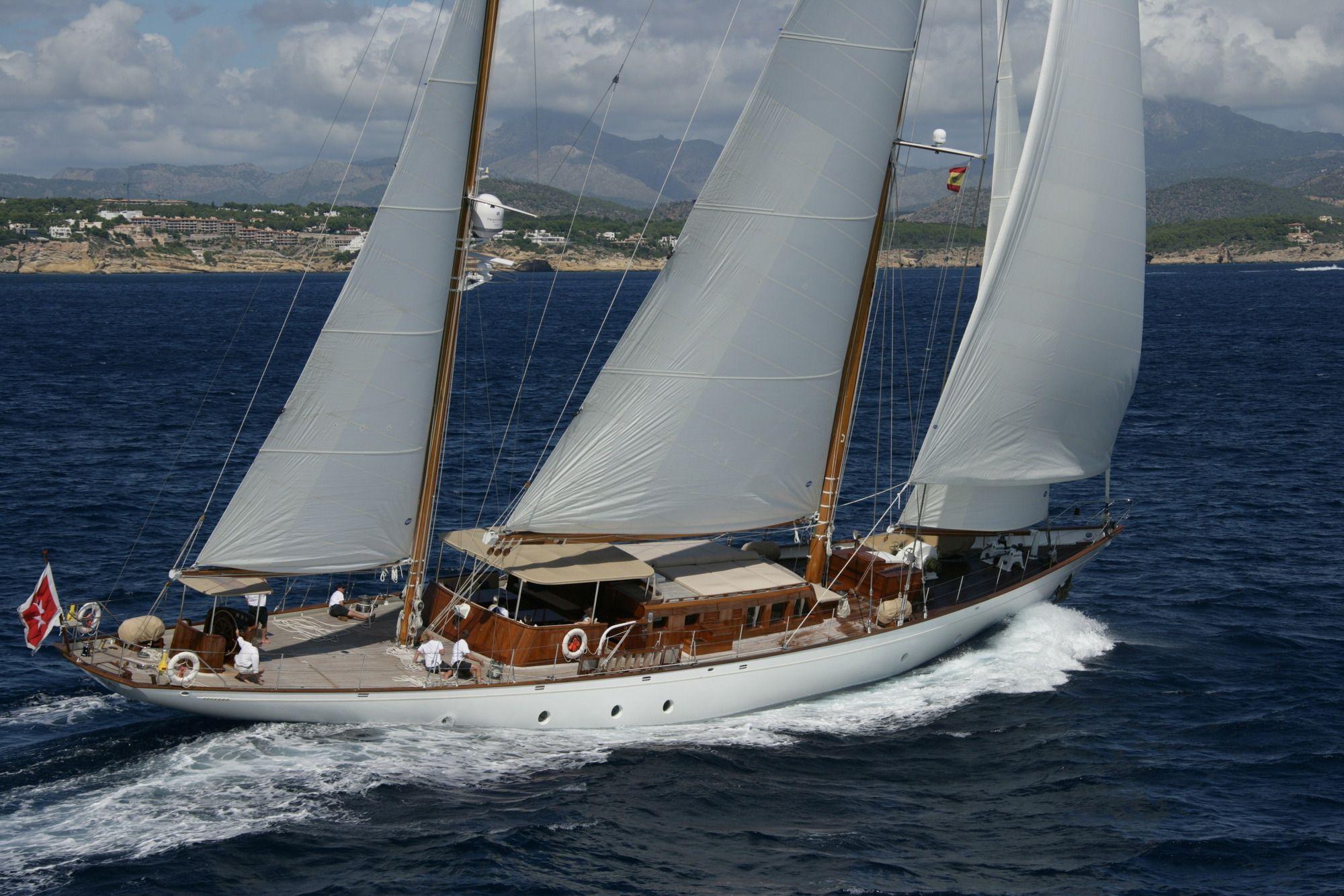 TIZIANA Abeking & Rasmussen 116 Luxury Sailing Yacht Running