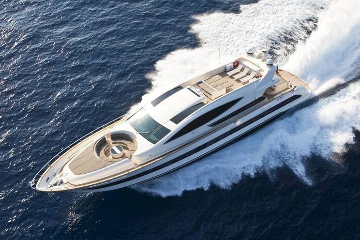 Charter Yacht TOBY - Cerri Flying Sport 102 - 5 Cabins - Amalfi Coast - Capri - Sorrento - Naples - Monaco