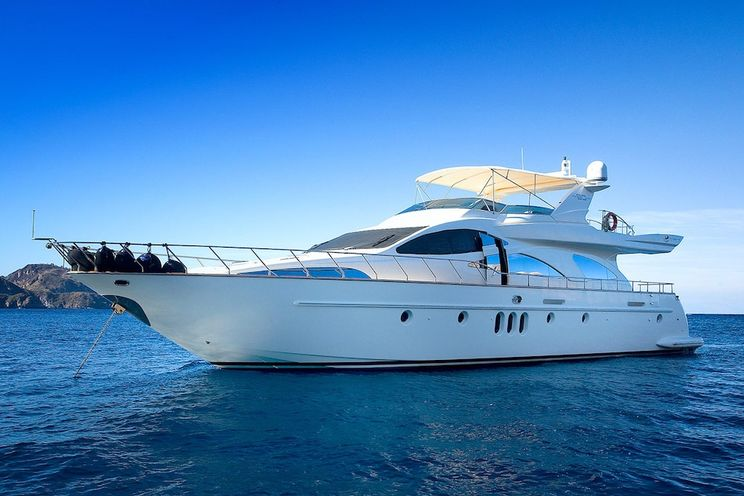 Charter Yacht TRANQUILITA - Azimut 80 Fly - 4 Cabins - Naples - Amalfi Coast - Capri