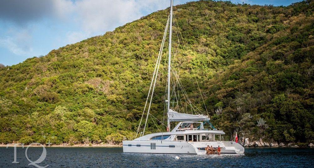 TRANQUILITY - Matrix Silhouette 76 - 6 Cabins - BVI - Tortola - Virgin Gorda - Jost Van Dyke