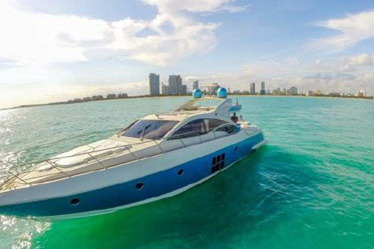 Charter Yacht TRANQUILO - Azimut 68 - Miami Day Charter Yacht - South Beach - Miami -  Florida