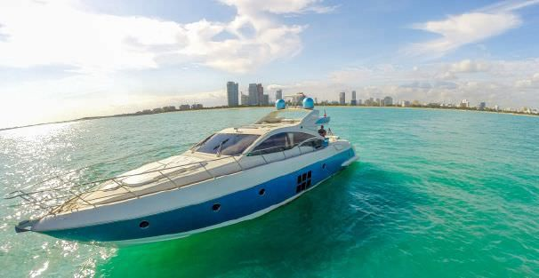 TRANQUILO - Azimut 68 - Miami Day Charter Yacht - South Beach - Miami - Florida