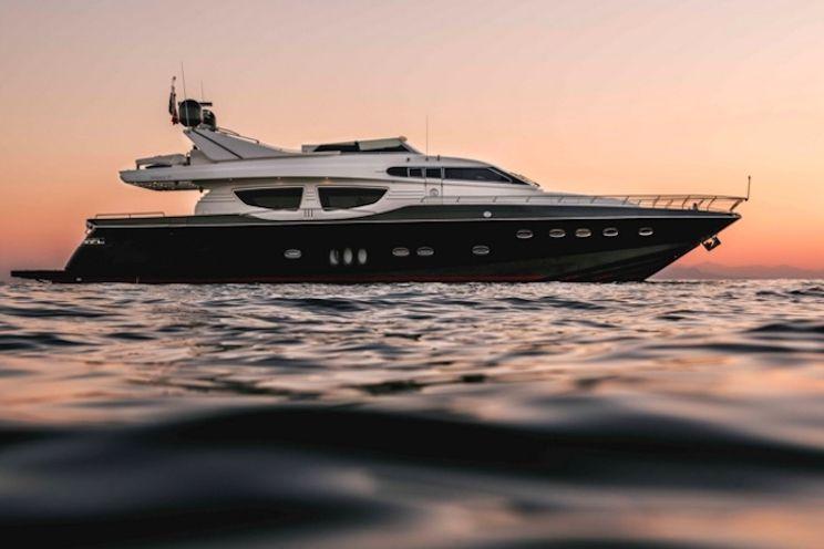 Charter Yacht THIS IS MINE - Posillipo 27m - 4 Cabins - Athens - Mykonos - Santorini