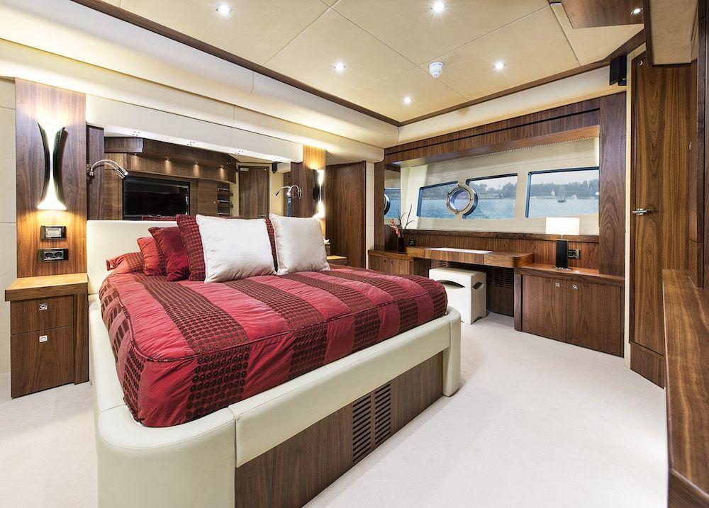 Sunseeker 28m Twenty Eight French Riviera Master Suite