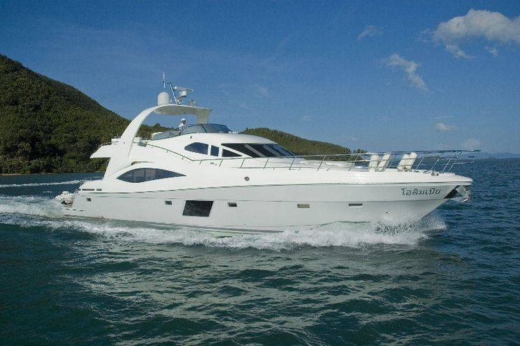Charter Yacht Tachou Flybridge - Day Charter for 20 Guests or 4 Cabins Live Aboard - Phuket,Thailand