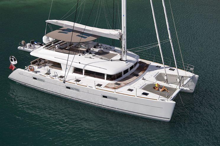 Charter Yacht SAIL AWAY - Lagoon 620 - 5 Cabins - BVI - Tortola - Beef Island - Virgin Gorda