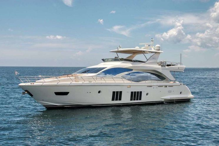 Charter Yacht VALERE - Azimut 84 - 4 Cabins - St Thomas - St John - St Croix - USVI