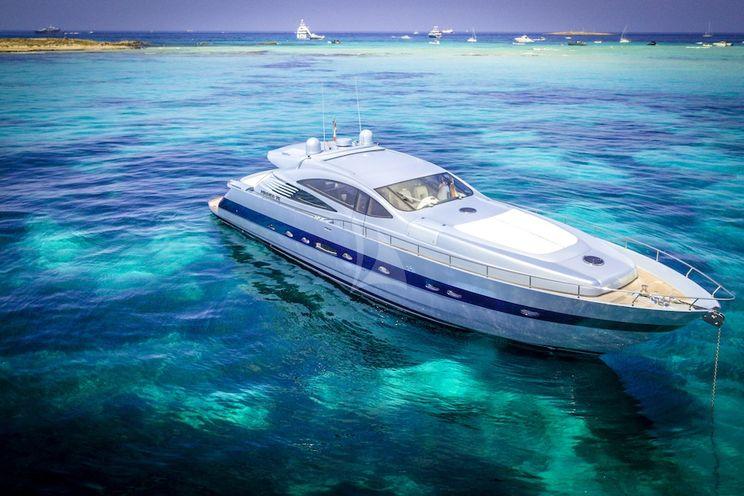 Charter Yacht VANQUISH - Pershing 76 - 4 Cabins - Balearic Islands - Ibiza - Palma de Mallorca - Menorca