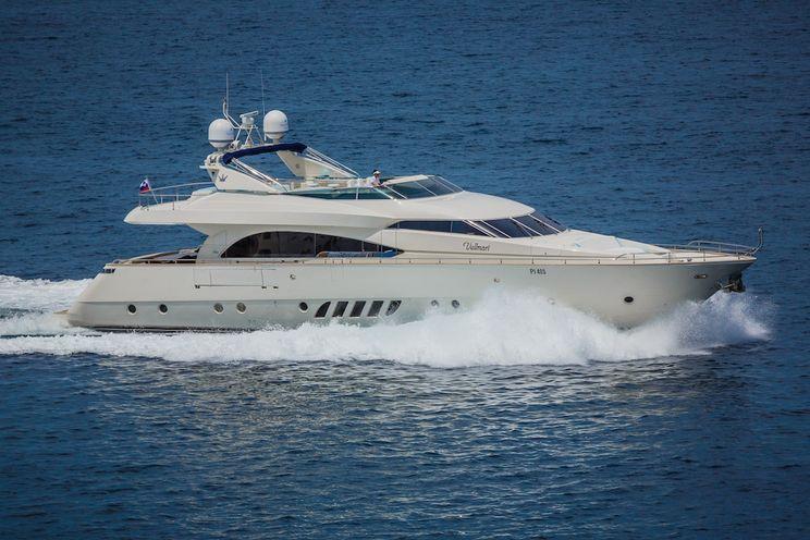 Charter Yacht VELLMARI - Dominator 27m - 4 Cabins - Izola - Pula - Zadar