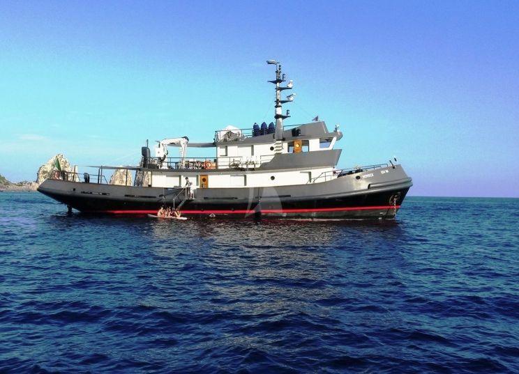 VERVECE - Benetti 30m Tug - 4 Cabins - Cannes - Monaco - Naples - Capri - Amalfi