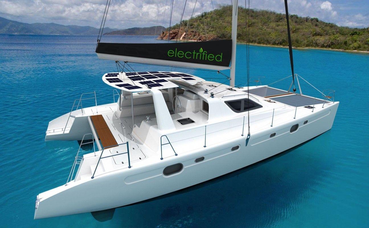 Voyage 480 ELECTRIC - 4 Cabins - Tortola - St Thomas - BVI