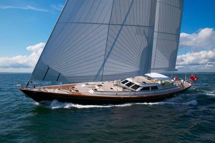 Charter Yacht WHISPER - 116 Holland Jachtbouw - 3 Staterooms - New England - Caribbean - St Maarteen - Virgin Islands