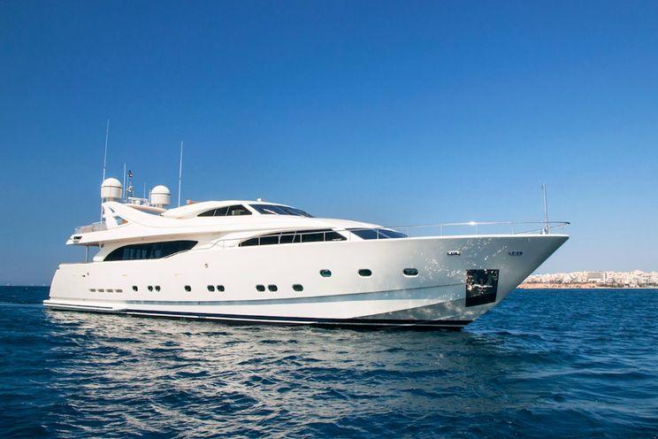 Charter Yacht WHISPER V - Ferretti 112 - 6 Cabins - Athens - Mykonos - Paros - Santorini