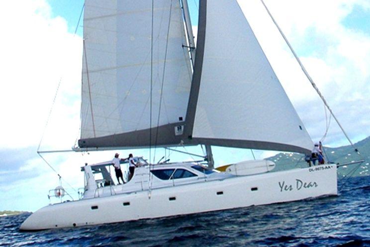 Charter Yacht YES DEAR - Simonis Voyage 58 - 5 Cabins - Tortola - Virgin Gorda - British Virgin Islands