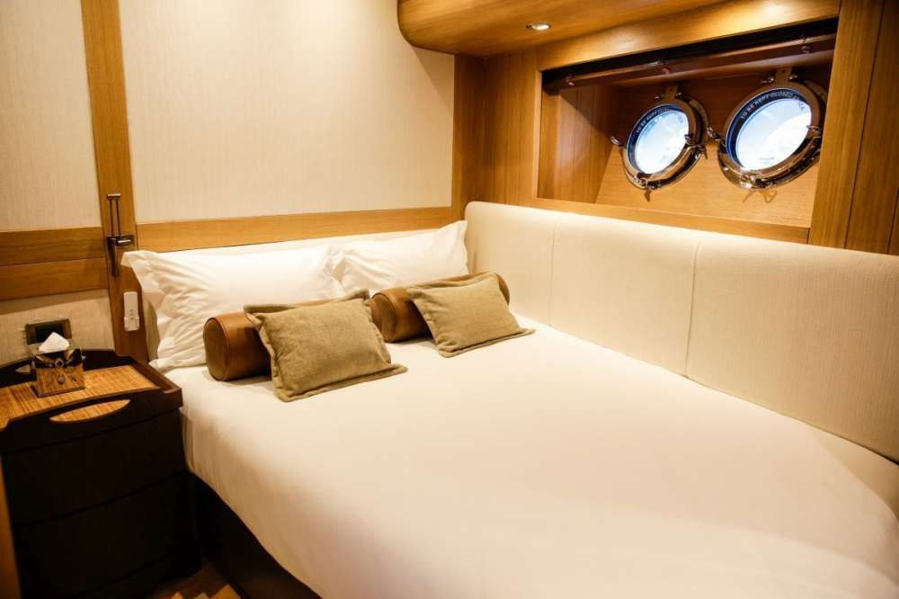 ZANZIBA Etemoglu 40m Luxury Sailing Yacht VIP Cabin