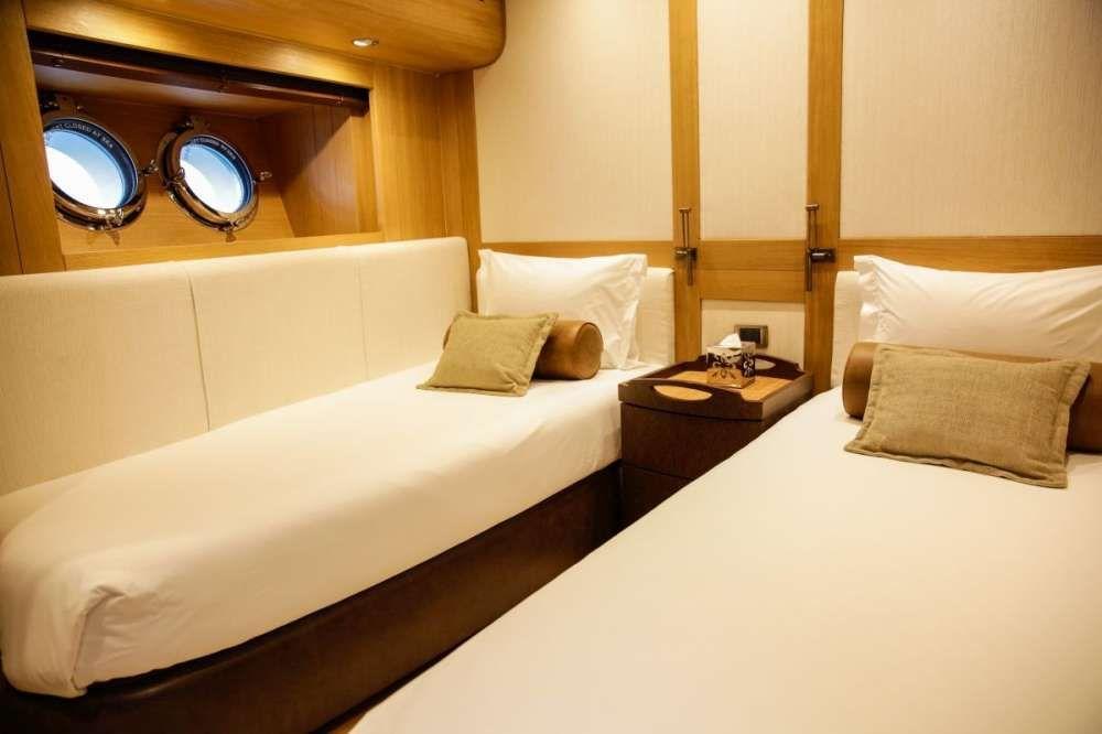 ZANZIBA Etemoglu 40m Luxury Sailing Yacht Twin Cabin