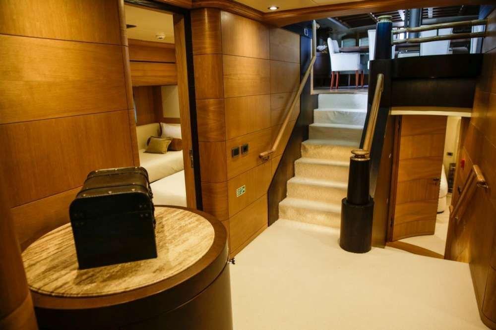 ZANZIBA Etemoglu 40m Luxury Sailing Yacht Foyer