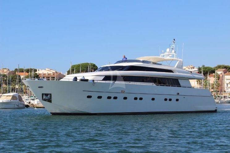 Charter Yacht ZEN - San Lorenzo 88 - 4 Cabins - Athens - Mykonos - Santorini - Kos