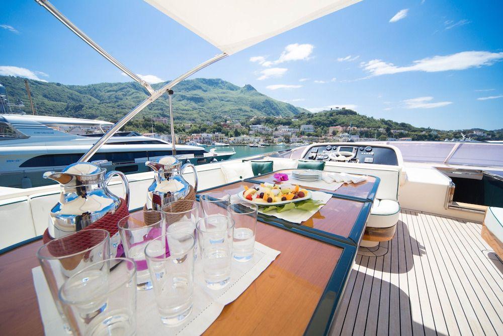 ZIA CANAIA Riva Yacht Flybridge