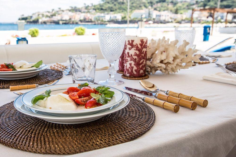 ZIA CANAIA Riva Yacht Sample Lunch