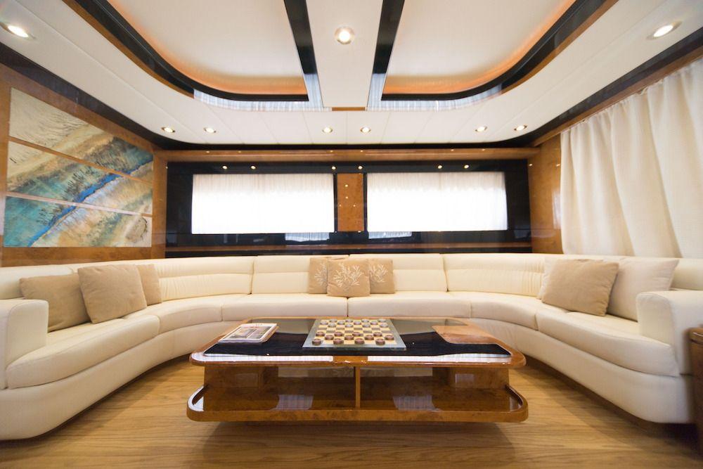 ZIA CANAIA Riva Yacht Saloon