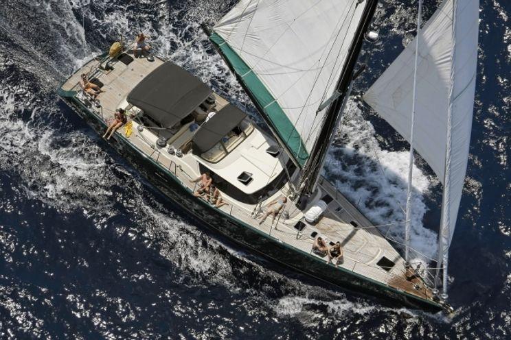 Charter Yacht ZULU - 20m Acubens Crewed Sailing Yacht - 4 Cabins - Marina Ibiza - Ibiza Port - Formentera